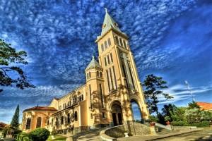 Dalat Cathedral - Dalat Chicken Church