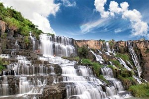 Dalat Flower - Clay tunnel and Waterfall Tour